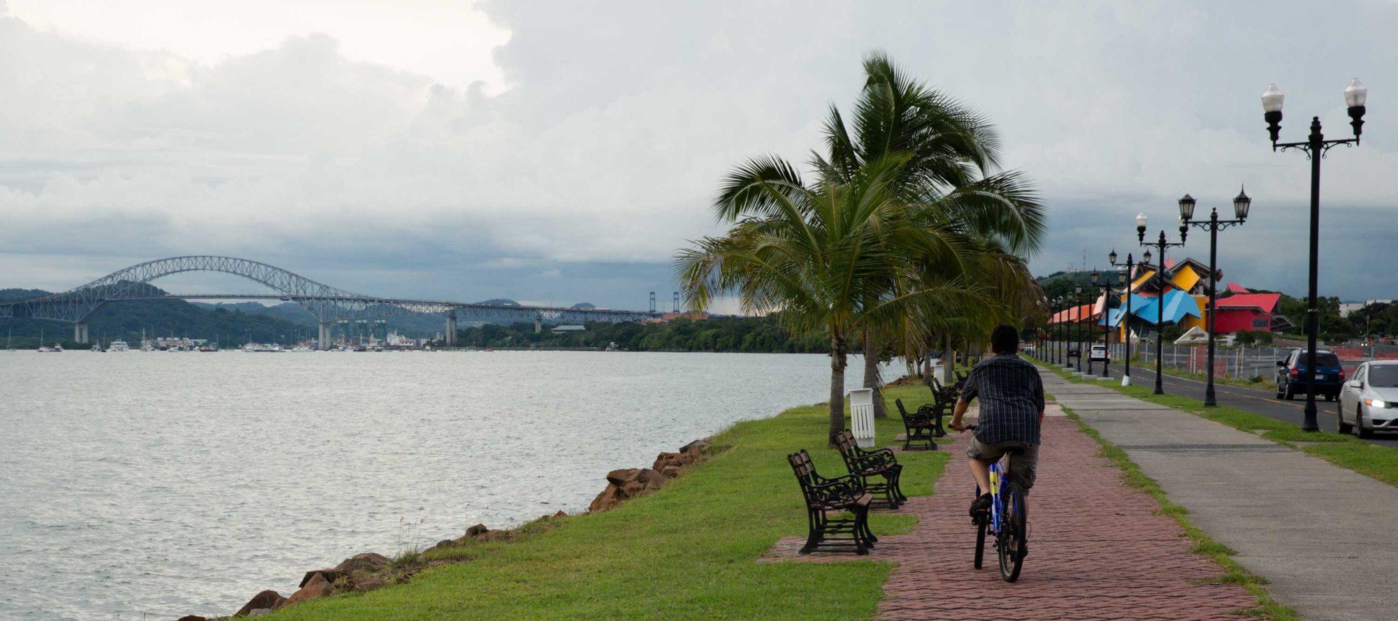 Amador Causeway, Panama Canal