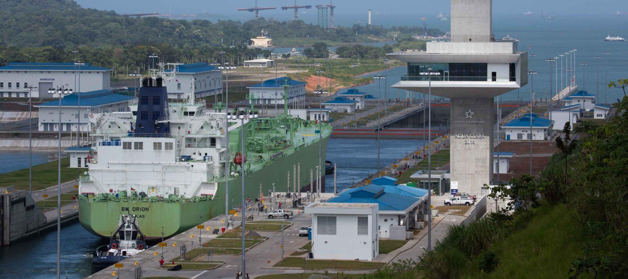 Esclusas de Agua Clara del Canal de Panamá